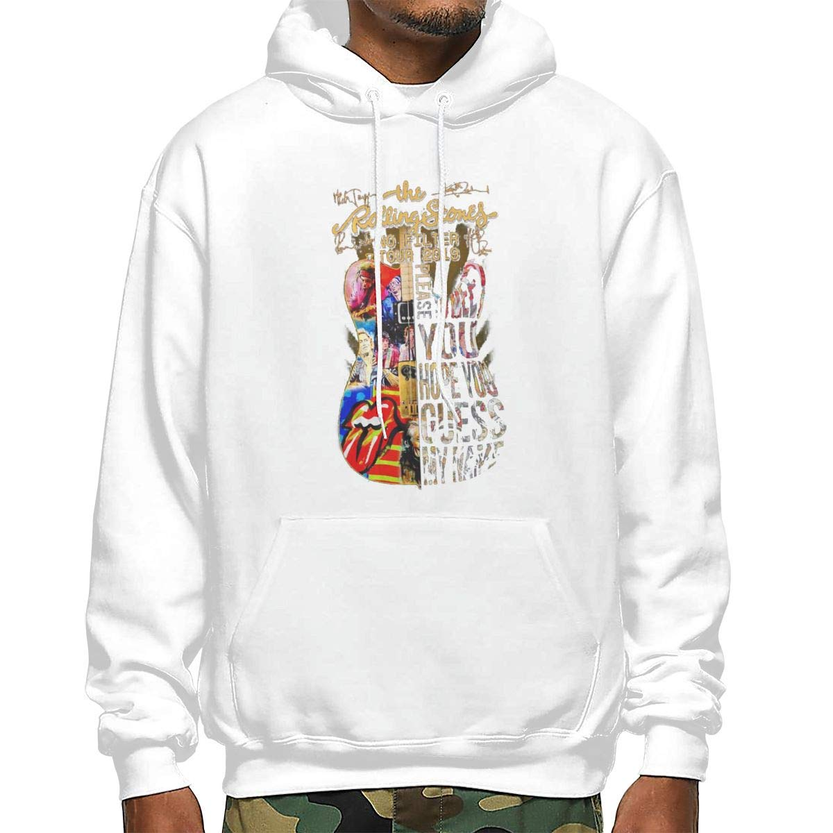 S 89fashion Usa The Rolling 2019 Stones No Filter Guitar Tour Causal Long Hoodi Shirts