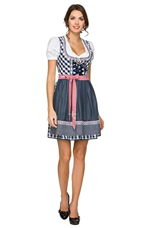 26261b33a3f Amazon.com  Oktoberfest Costume Women - 5 Size S-2XL Women Sexy German  Oktoberfest Bavarian Maid Dress Beer Girl Costume  Clothing