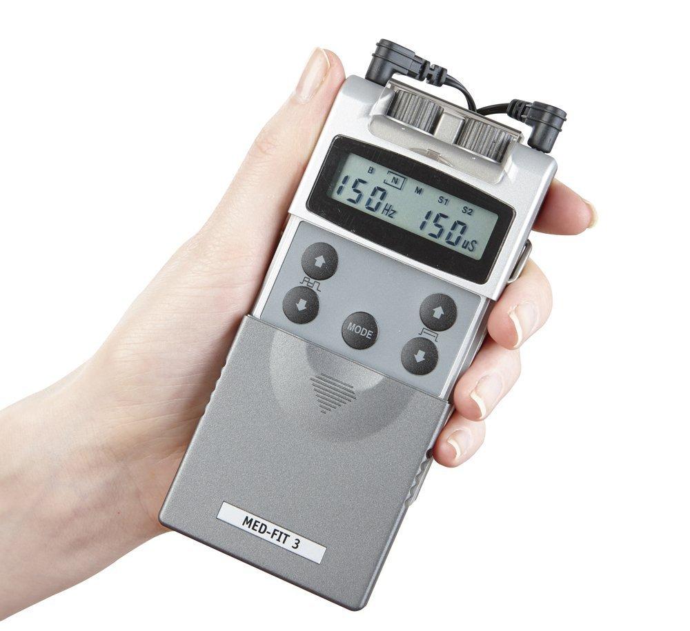 Med Fit Dispositivo de electroestimulación digital dos canales