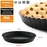 Tart Pie Pan 11 Inch with Removable Loose Bottom