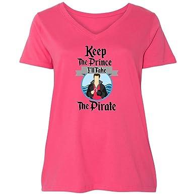 da424076098 Amazon.com  inktastic - Keep The Prince I ll Take The Pirate Ladies ...