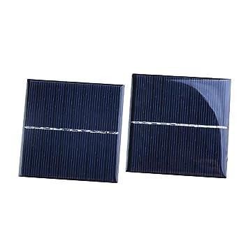 NON MagiDeal 2 Piezas Cargador de Panel Solar Policristalino ...