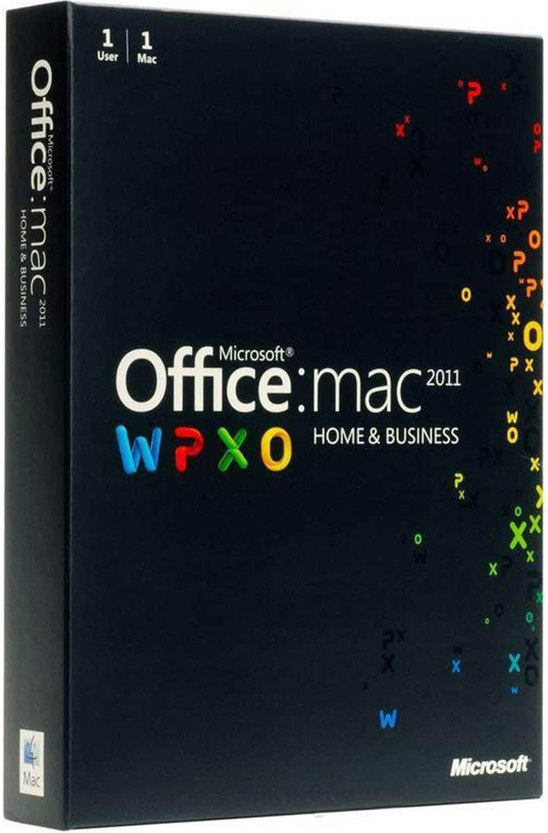 Office Mac Home and Business 2011 - 1MAC/1User W6F-00063 (Disc Version)