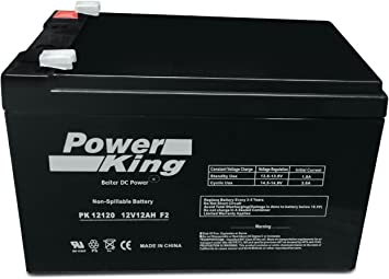 Roketa ES-47 12V 5Ah Electric Scooter Replacement Battery Set