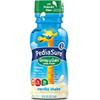 24-Pack PediaSure 8-Ounce Nutrition Drink with Fiber (Vanilla)