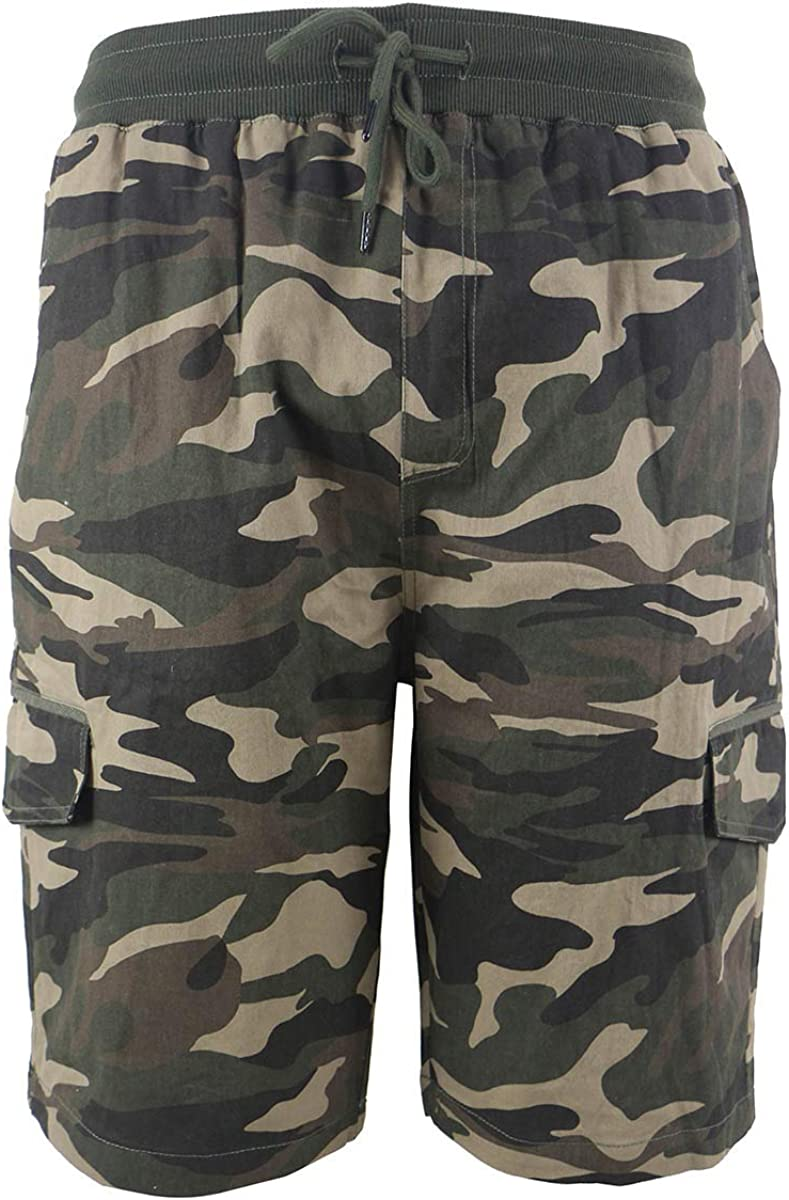"""Men's Hybrid Amphibian Shorts Quick Dry 21"""" Flat Front Water Resistant Lightweight Size 30-40"""