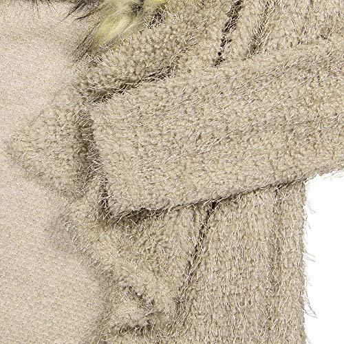 Cardigan Lady in Ningsun Cachi del Moda Donne per Scialle a Tops Manica a chiffon Chiffon capo pipistrello cardigan Leopardato tunica Coprispalle vPZRTSv