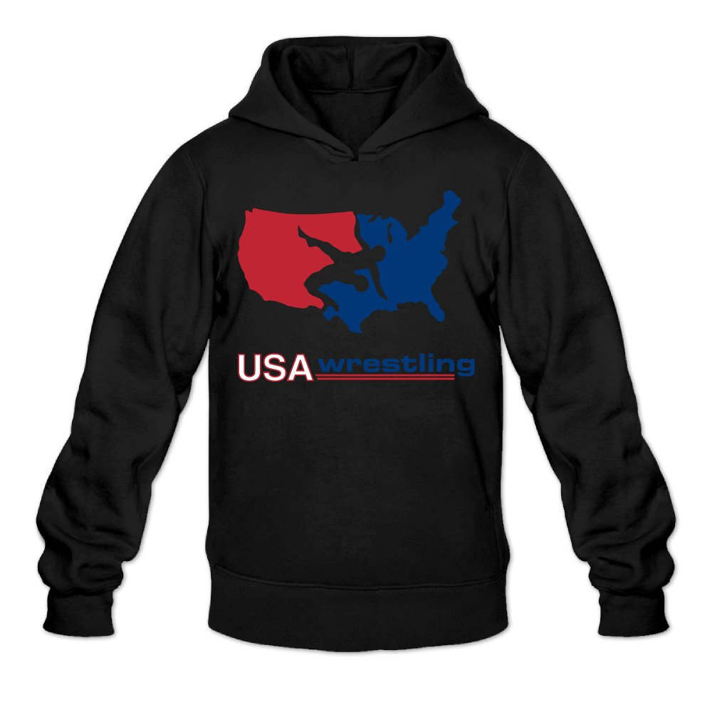 USA Wrestling Men's Hooded Sweatshirt