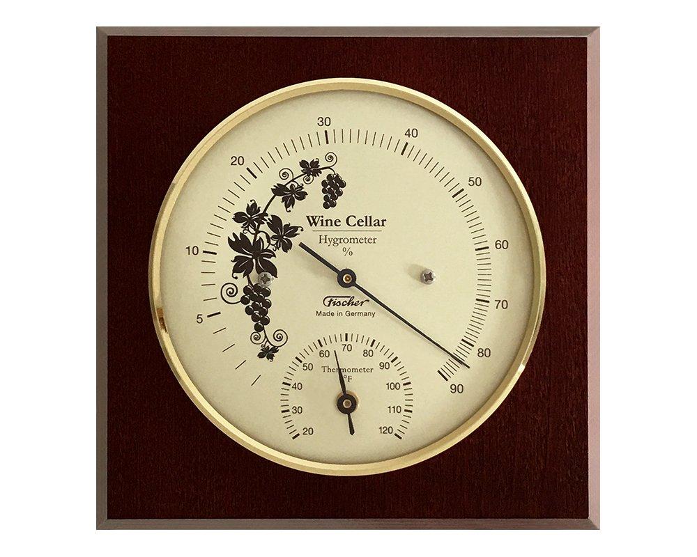 Wine Cellar Hygrometer & Thermometer 140 x 140 mm, 1225HT-22Fv2 °Fahrenheit-Version
