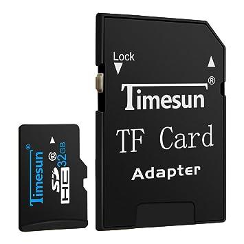 was ist eine tf karte Timesun® 32GB Micro TF Karte Speicherkarte Speicher: Amazon.de