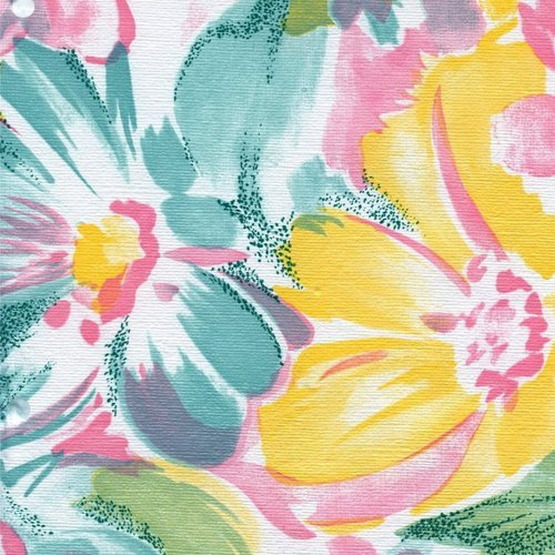 Nordic Shield Tropical Floral Series F0226 Vinyl Tableclo...
