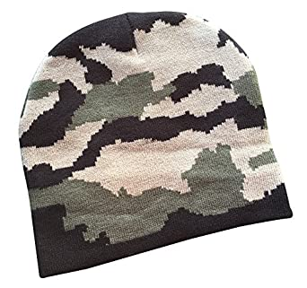 feb418d4b27 the cotton chef Girl s Army Military Camouflage Skull Cap (SCAP DCMF 1