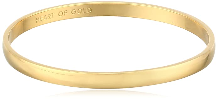 Vintage Style Jewelry, Retro Jewelry Kate Spade New York Womens Idiom Bangles 2 Heart of Gold $38.00 AT vintagedancer.com