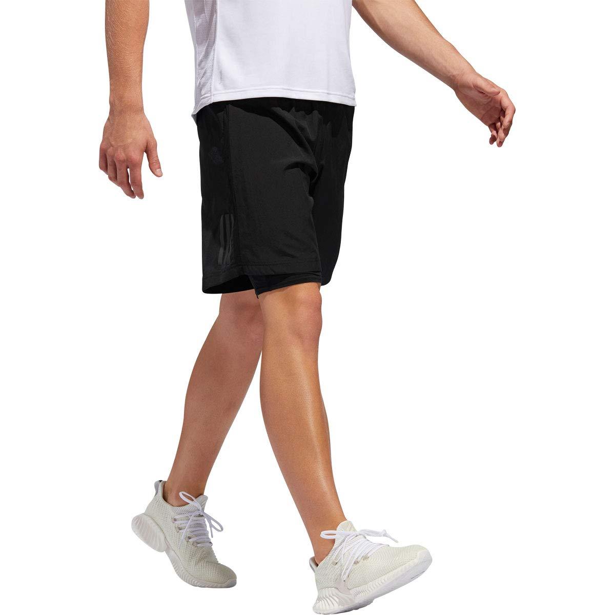adidas Herren Crazytr Sh 2 in 1 Kurze Hose, Grau: : Sport