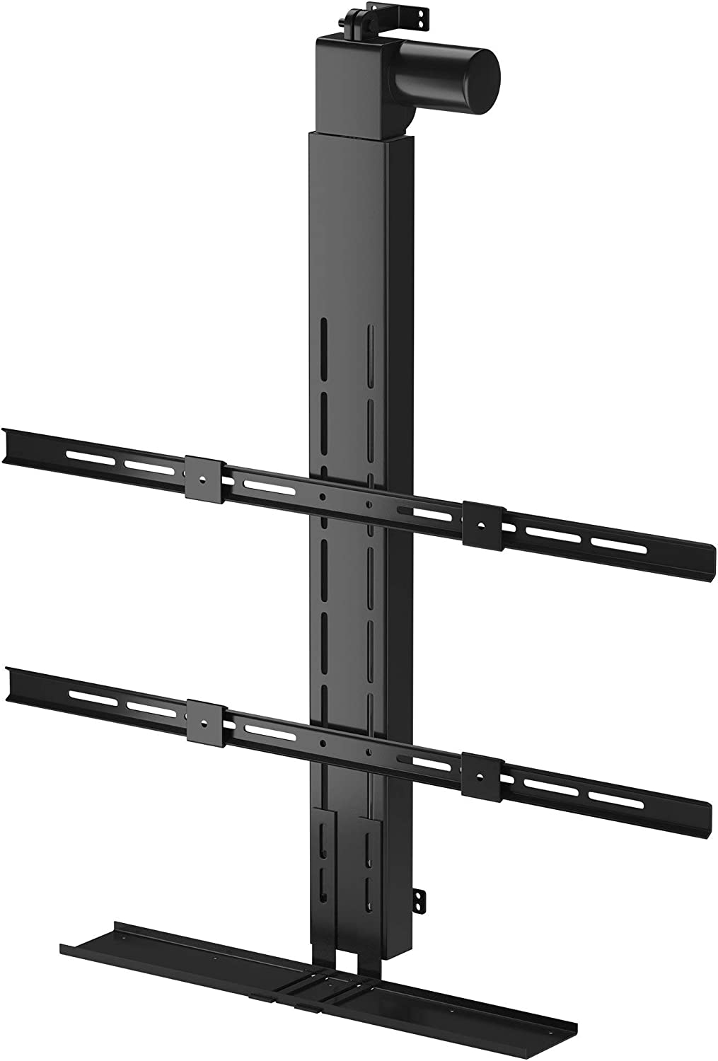 """Hidden Drop Down TV Mount, Motorized TV Ceiling Lift for Up to 75"""" Screens. Lift Stroke 40"""""""