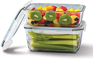 Mason Craft & More V1541 Food Storage container, 4PC ASSORTED, Clear