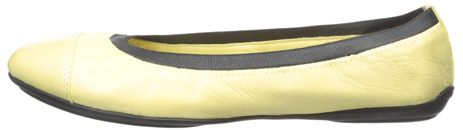 Geox Women's D Charlene Flat B0129U3YHE 42 M EU / 11 B(M) US|Light Yellow