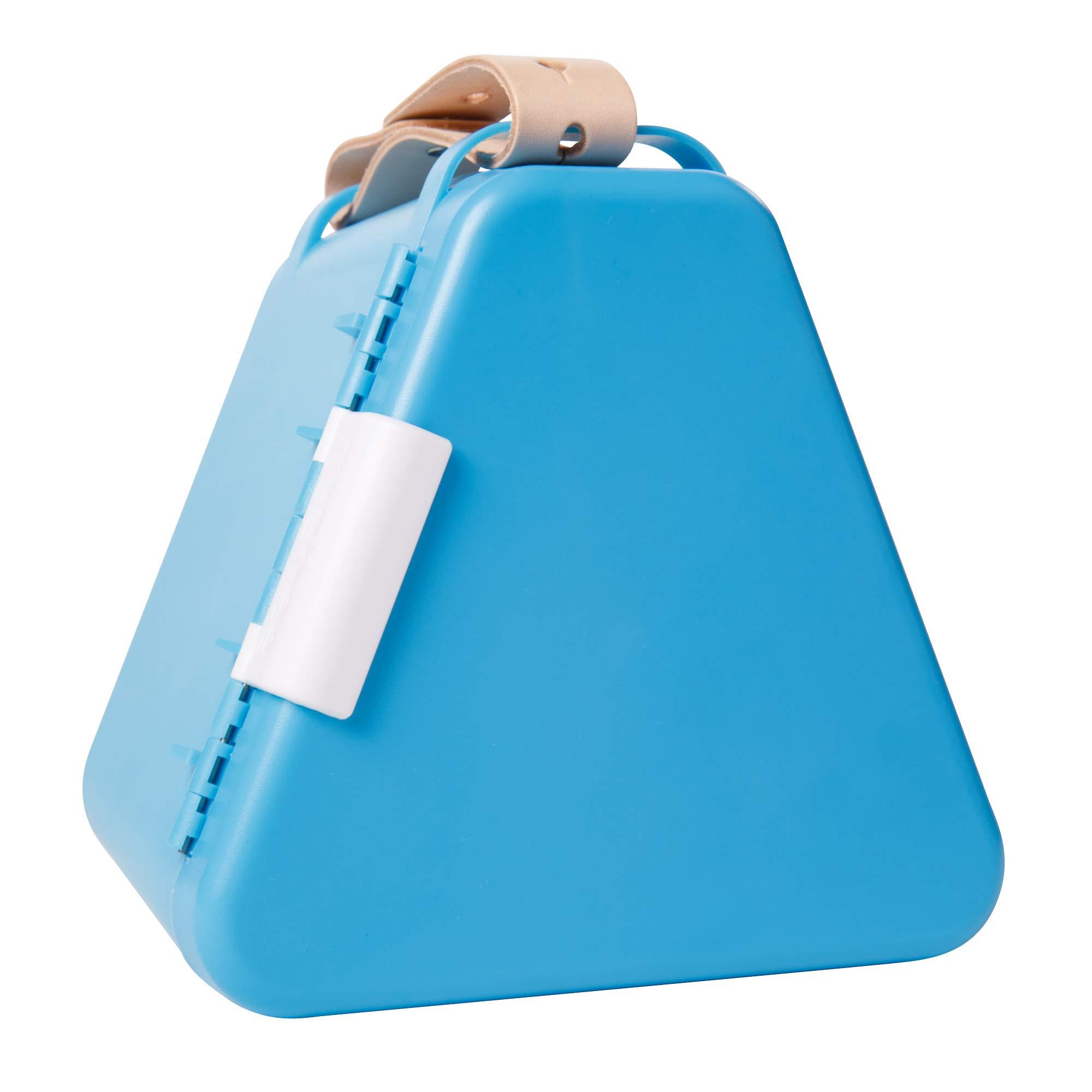 Fat Brain Toys Teebee - Play & Store Toy Box - Light Blue