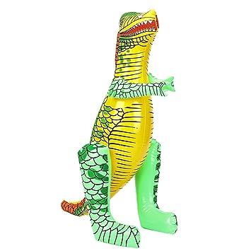 KJweitian Inusual 40/55cm Inflable Dinosaurio Hinchable Juguetes ...