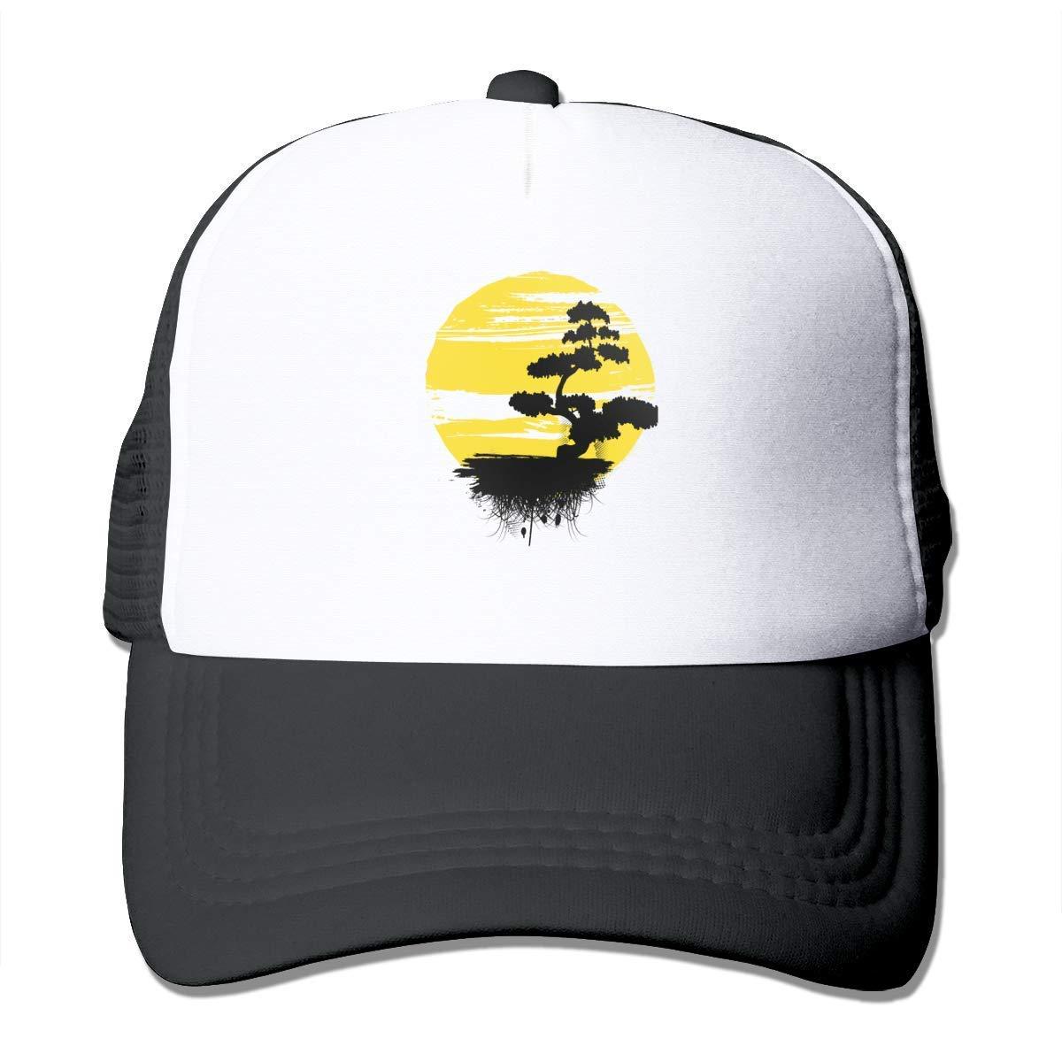 Gorras de béisbol ajustables amarillas de la malla del protector ...