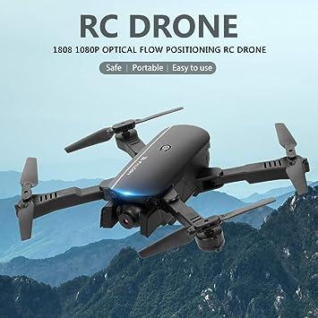 Mobiliarbus 1808 RC Drone con cámara 1080P WiFi FPV Flujo óptico ...