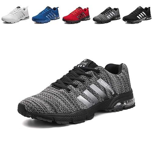 80f4422130dc Chaussures Homme de Running Entrainement de Sports Sneakers Chaussures de  Course Sports Fitness Gym Athlétique Baskets