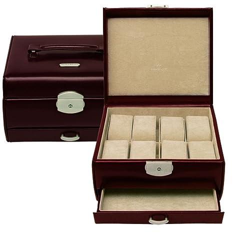 Windrose Classico - Estuche para relojes, 19,5 cm marrón marrón Talla:talla