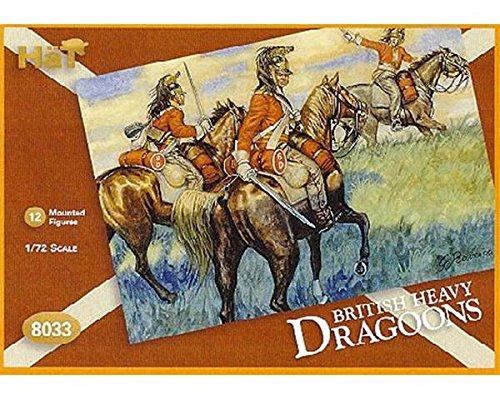 H/äT 8033/ /Napoleonic British Heavy Dragoons 1//72