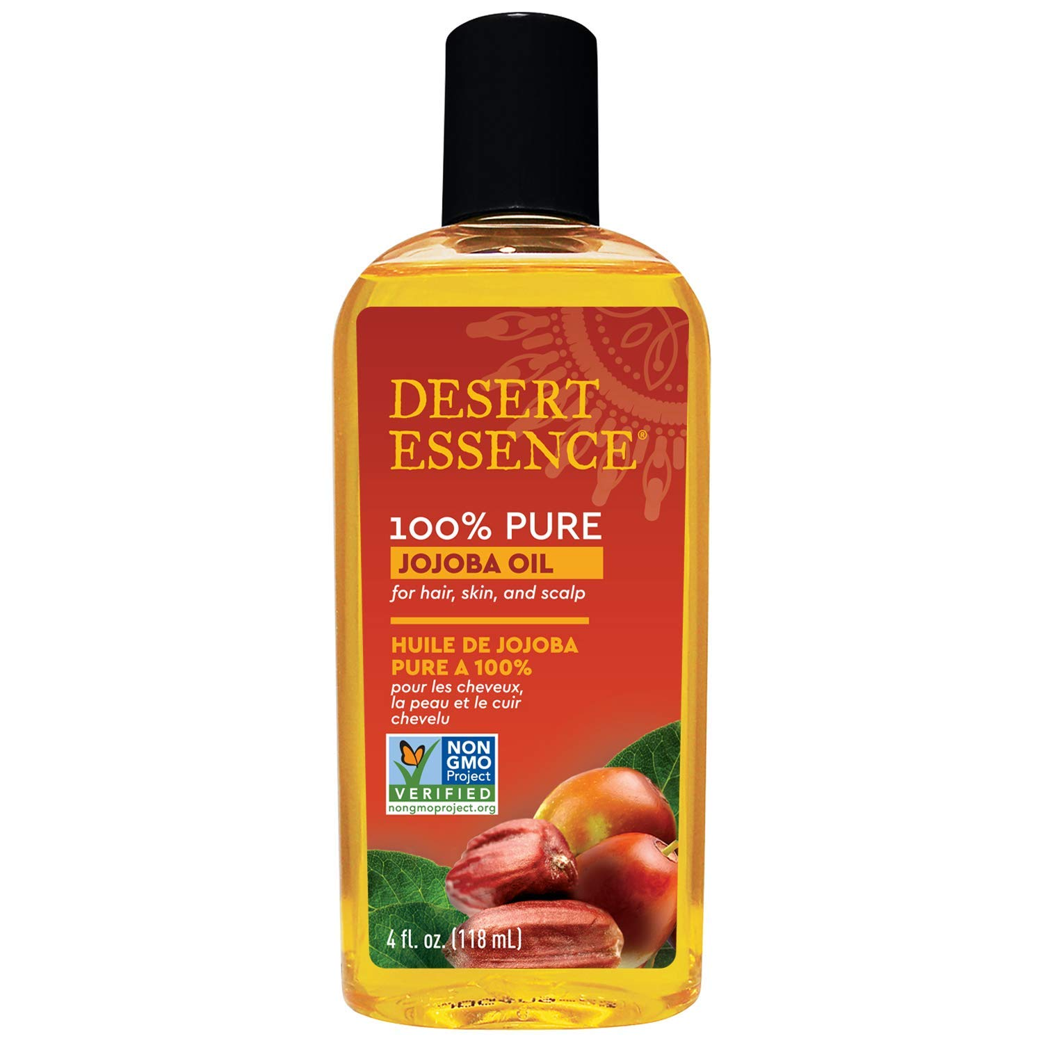 3. Desert Essence 100% Pure Jojoba Oil