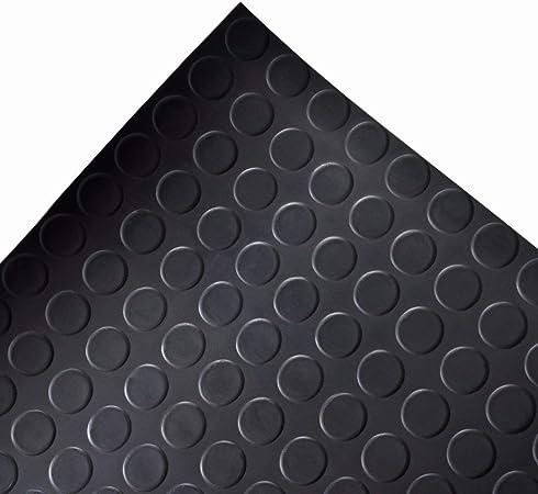 Terrain de jeu etc. antid/érapant Convient pour garage stable diamant en caoutchouc Rouleau de rev/êtement de sol 4mm /épaisseur 1m largeur salle de sport 5m longueur Tapis de sol de s/écurit/é Atelier