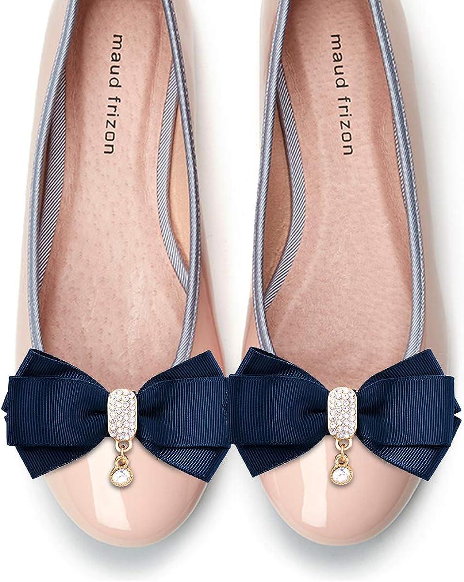 Elegantpark Femmes Arcs D/écoratifs Clips De Chaussures Bijoux De Chaussures D/écoration Charmes De Mariage Accessoires De F/ête
