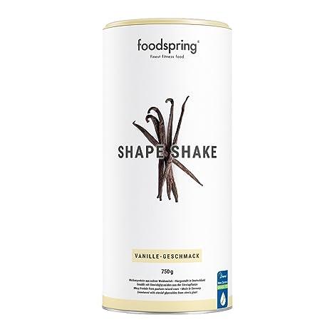 foodspring - Shape Shake - Sabor Vainilla - Logra todos tus objetivos de forma natural y