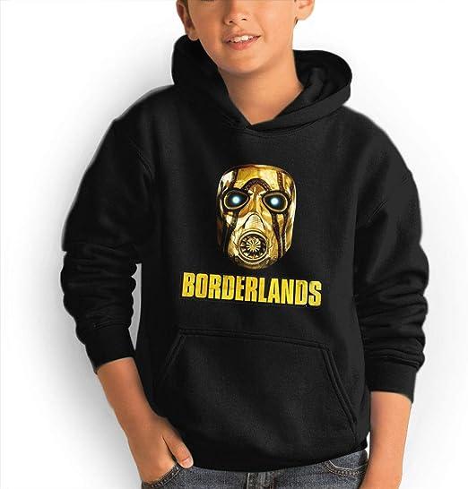 CONNOR WALTERS Borderlands Boys and Girls Custom Hoodies Black