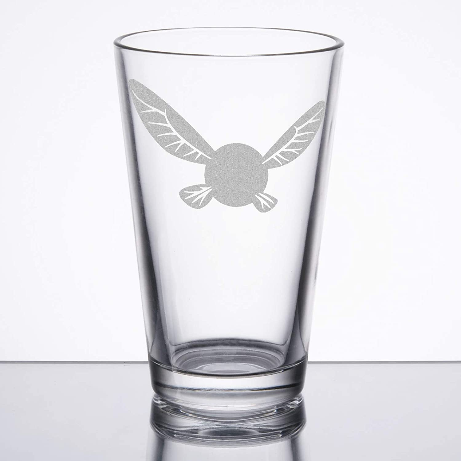 The Legend of Zelda - Navi - Etched Pint Glass