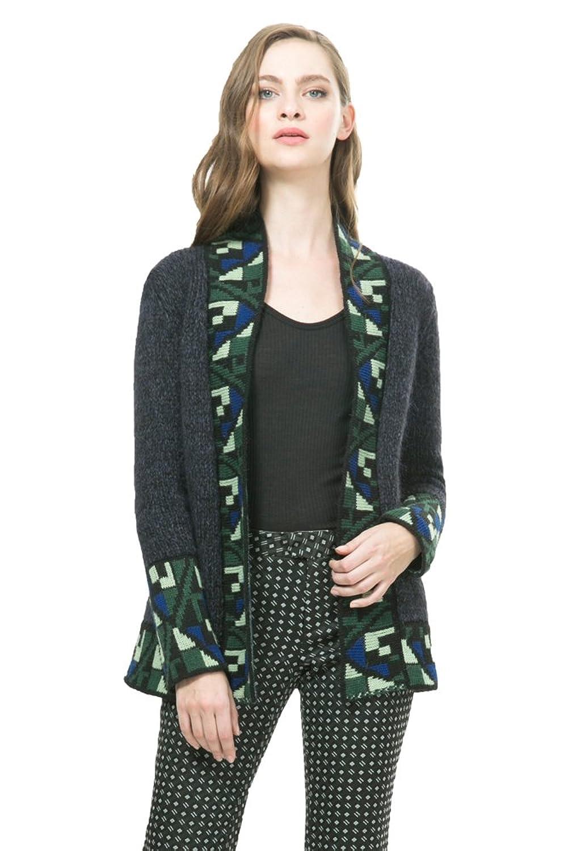 Desigual by Lacroix Womens' Pullover Gris, Sizes XS-XL
