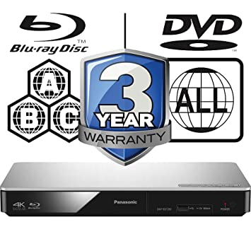 Panasonic Dmp Bdt280eb Smart 3d 4k Upscaling Icos Multi Amazon