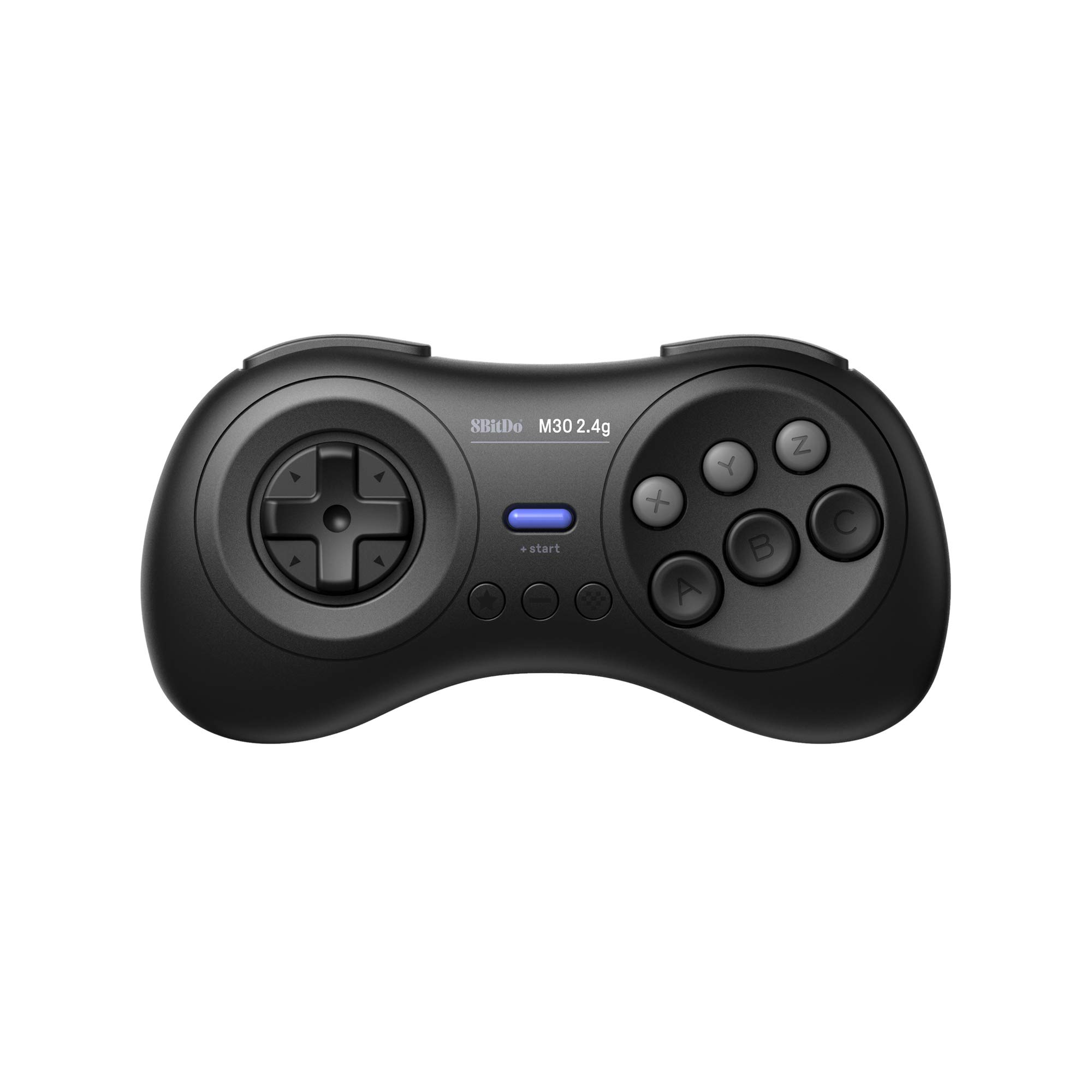 8Bitdo M30 2.4G Wireless Gamepad for the Original Sega Genesis and Sega Mega Drive - Sega Genesis,Black by 8Bitdo (Image #7)