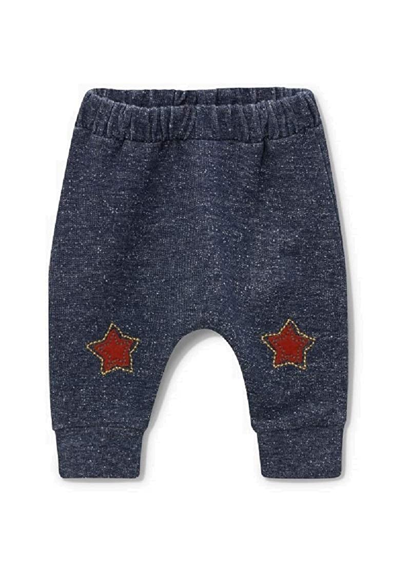 Baby Boys Star Joggers Age 3 6 Months Navy Pull On Track Bottoms