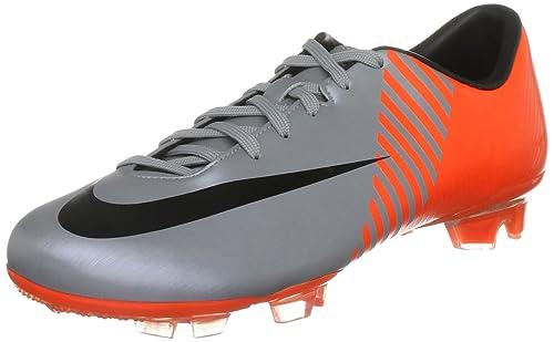 6f079fa19216 Nike Men's Mercurial Miracle FG WC Silver/Black/Orange Indoor Trainer  409869-408