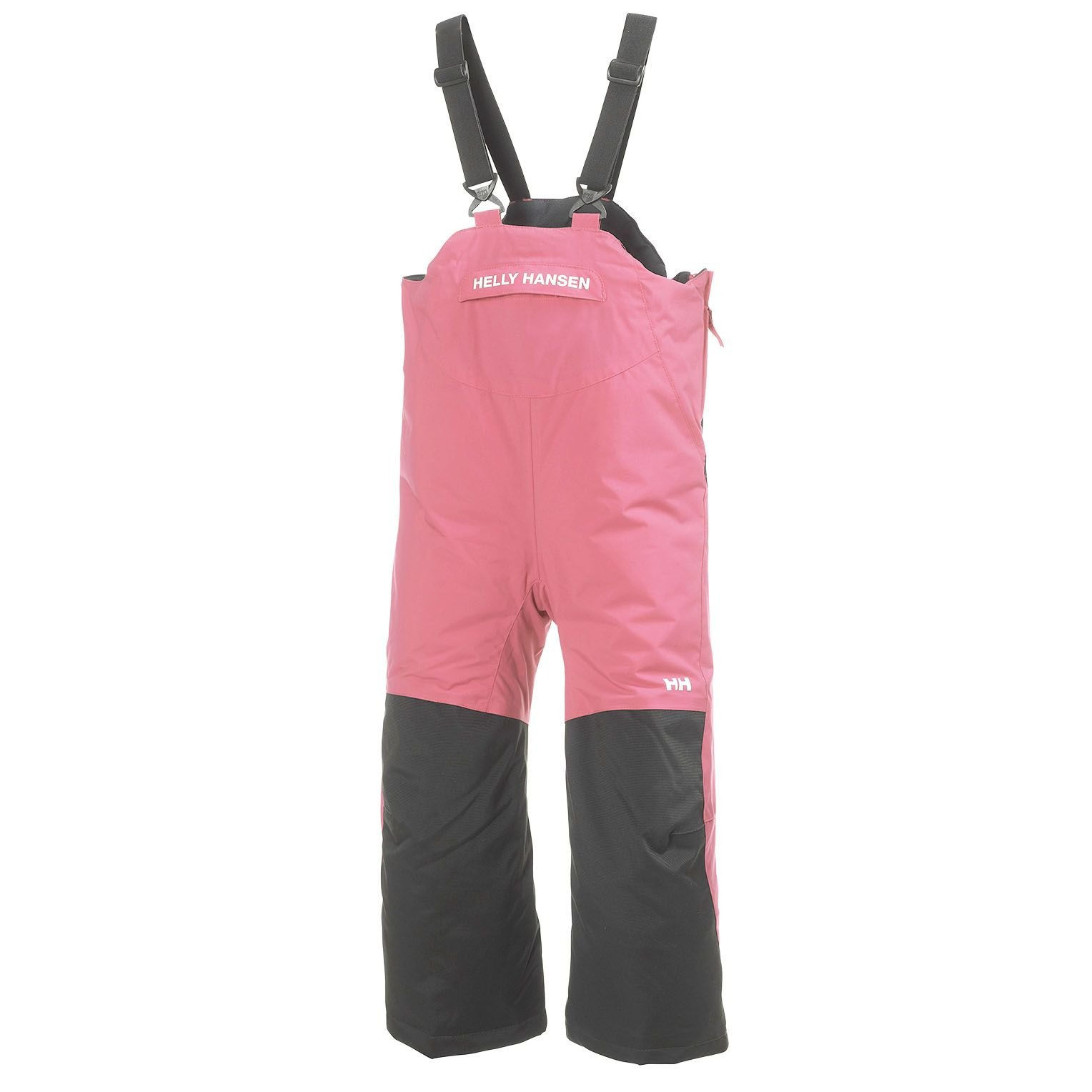 Helly Hansen Kids Rider Insulated Bib Pants, Dusty Powder, Size 7