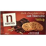 Nairn's Dark Choc Chip Oat Biscuits (200g) - Pack of 2