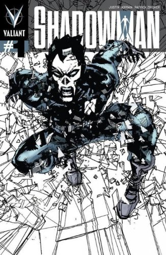 Shadowman #1 Incentive Bill Sienkiewicz Variant Cover (Shadowman) Incentive Variant Cover