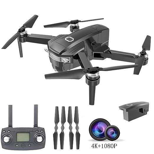 E-kinds Drone, cámara 4K, posicionamiento GPS, Control de teléfono ...