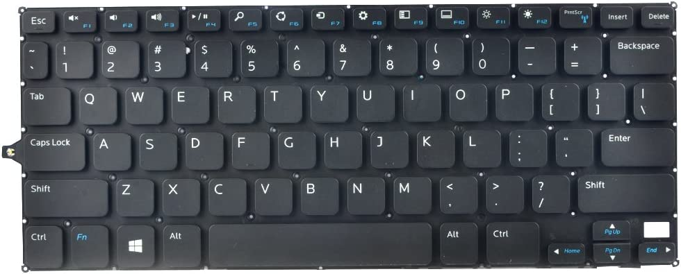 Eathtek Replacement Keyboard Without Backlit for Dell Inspiron 11-3147 11-3148 Series Black US Layout, Compatible Part Number V144725AS1 0F4R5H 0R68N6 (Only fit for Dell 3148 3147 Series)