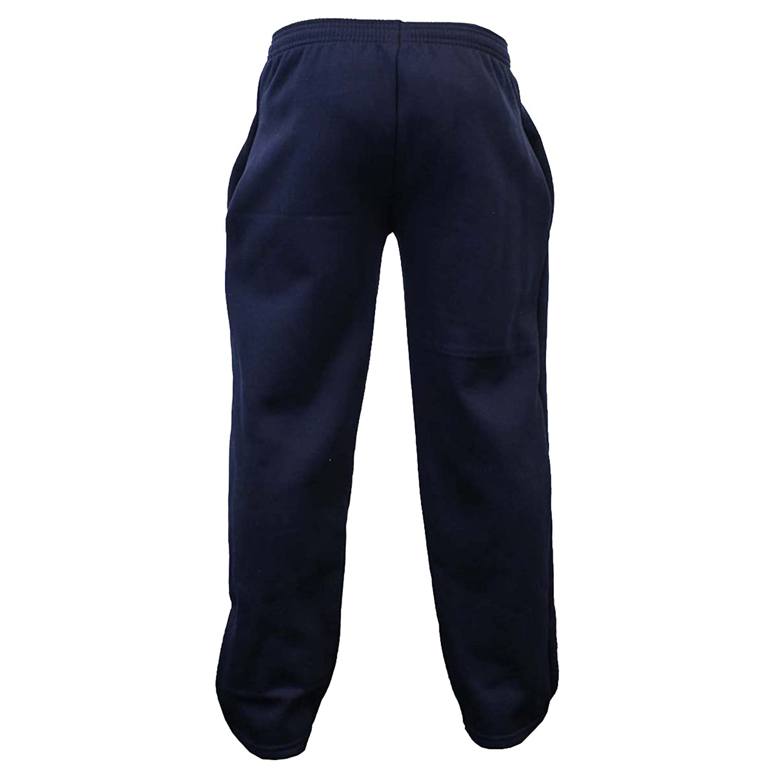 Boys Bottoms Kids PE School Pants Tracksuit Fleece Lined Trousers Sports Casual NA