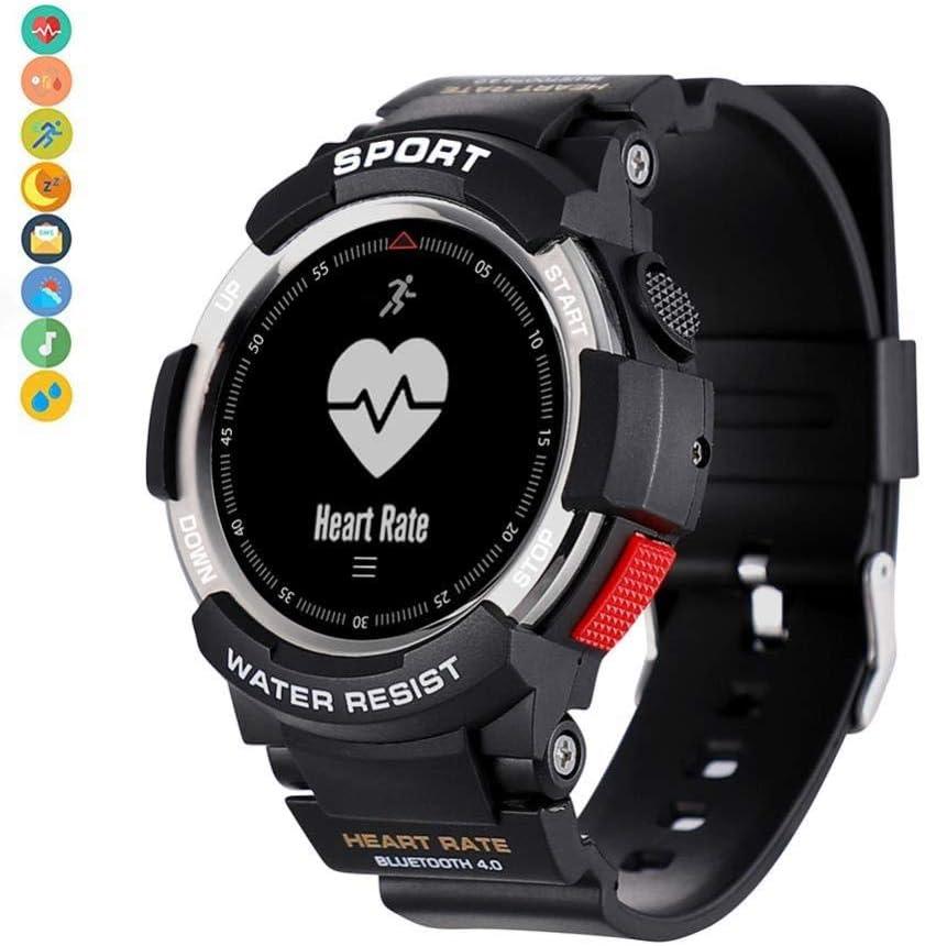BYBYC Smart Watch, Smartwatch Monitor de presión arterial, Fitness Tracker Hr Con Monitor de sueño Compatible Con iPhone