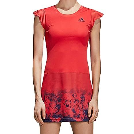 9966f2c95d66c adidas Performance Womens Climacool Badminton Dress - Red