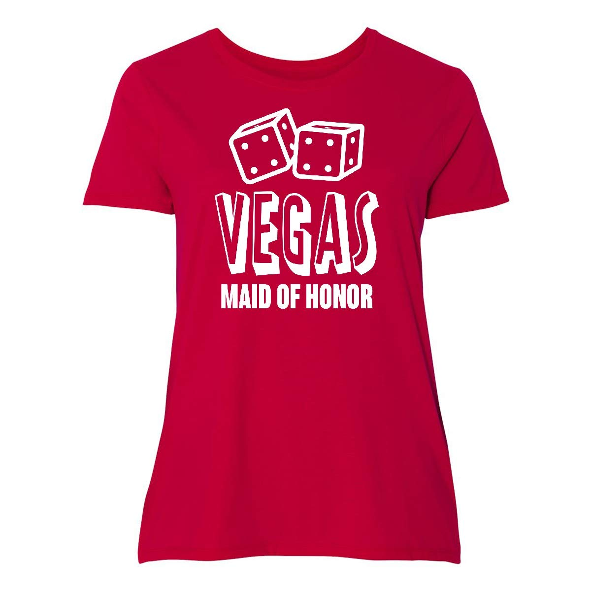 Vegas Maid Of Honor With Dice Plus T Shirt 356aa 4528