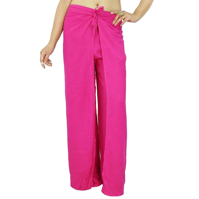 Frauen-Abnutzungs-Rayon Schlafanzug Hosen Hosen Gypsy Bottoms Summer Wear