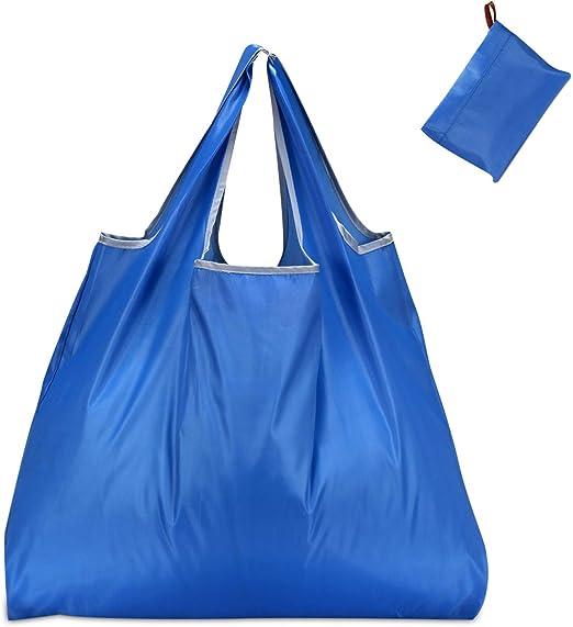 Amazon.com: KINGMAS Bolsas de comestibles reutilizables ...